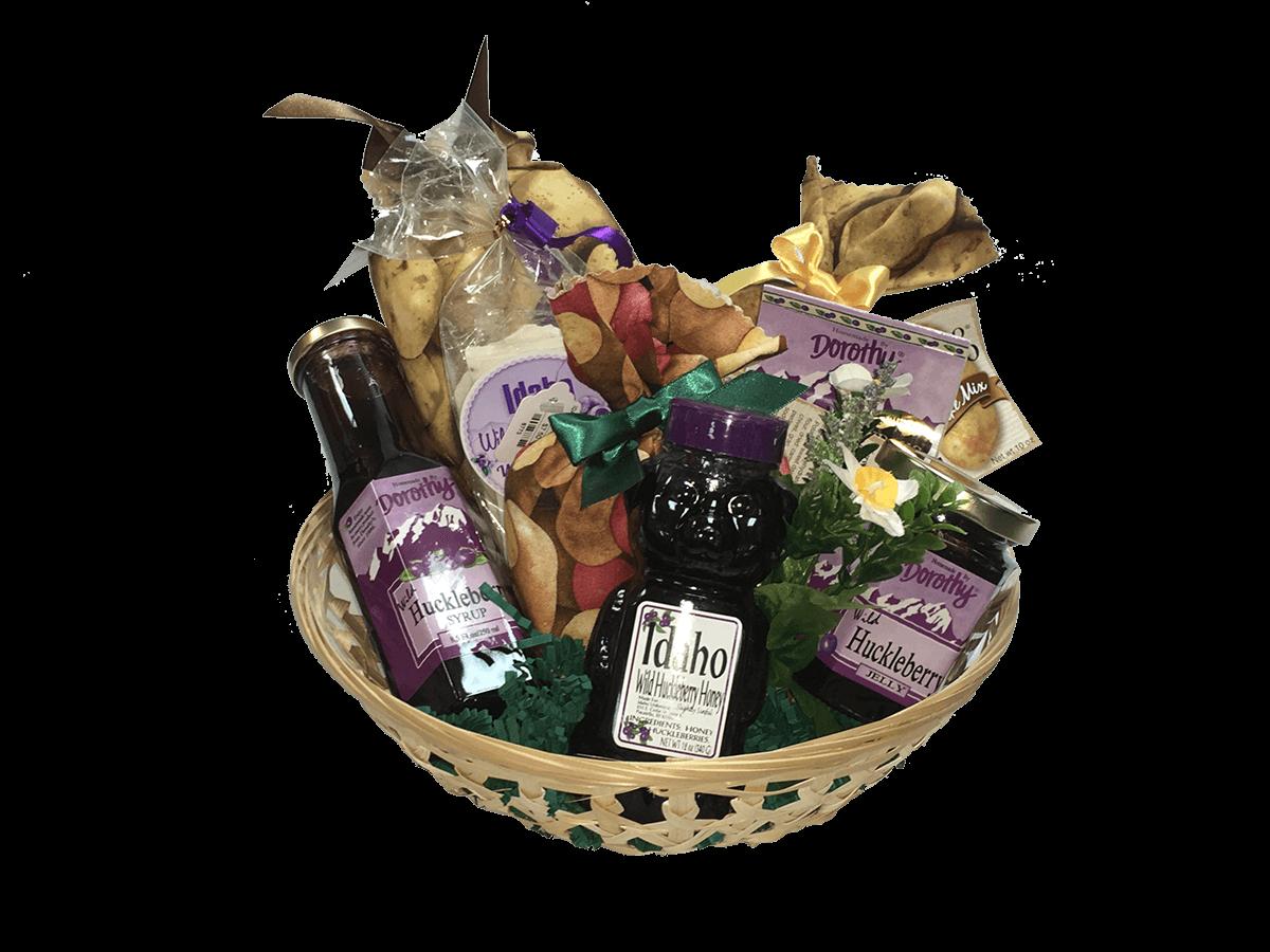 Idaho Huckleberry Gift Basket