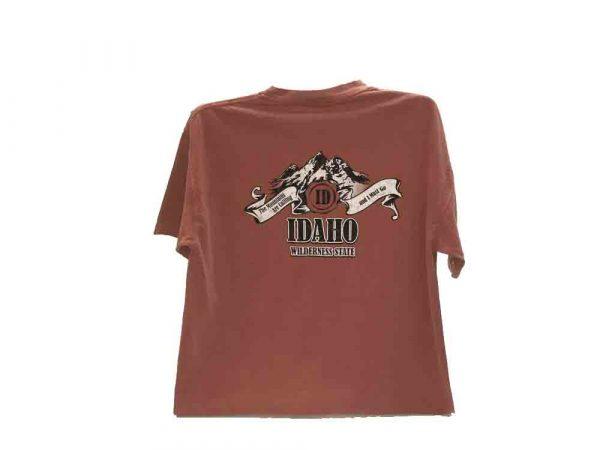 Idaho wilderness tshirt front