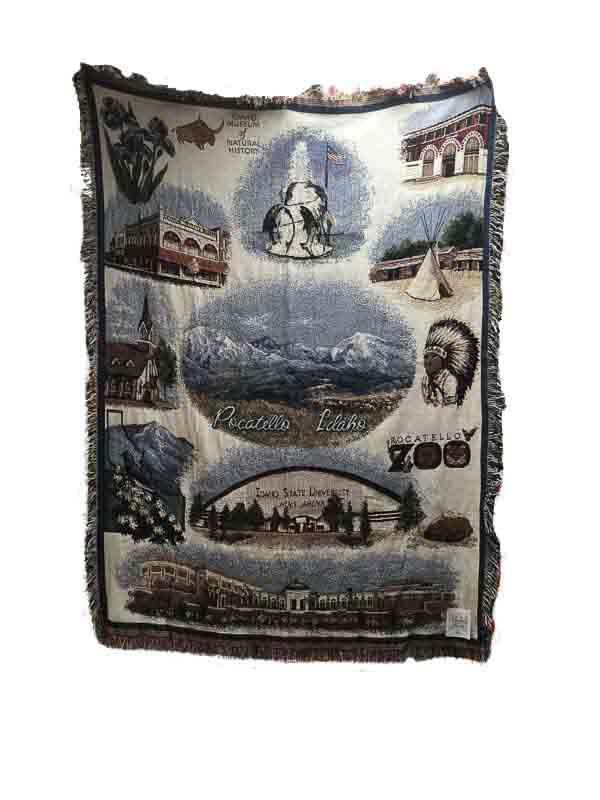 Pocatello icon quilt