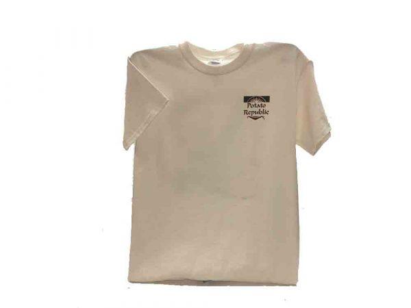 Potato republic tshirt front